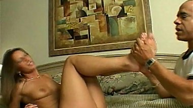 housewife sexy footjob