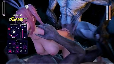 [MMD R-18] Alice Fucked in the Cave