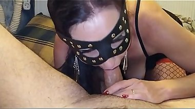 Hungarian Amateur Milf Catwomen Homemade Blowjob 1 - watch FULL HD video on adulx.club