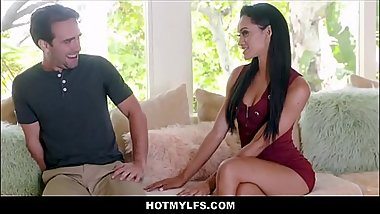 Lucky Guy Fucks His Dad'_s Hot Latina MILF Girlfriend
