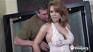 Sienna West Has Her Big Mexican Titties Fucked