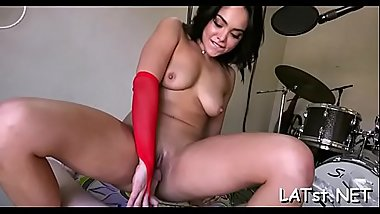 Steamy hot fuck for hot latin chick