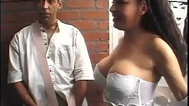 Slutty brazilian milf slammed by two younger boys Vol. 11