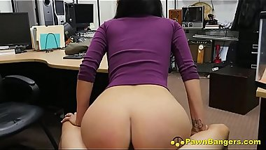 Stunning Big Titty Latino Mom Takes Huge Cock In Her Throat &amp_ Pussy