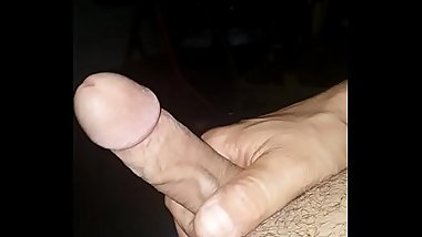 jerking off and cumming to video of me fucking my wife