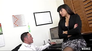 Mercedes Carrera Pounds On Big Cock