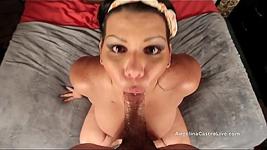 Angelina Castro Gets MASSIVE Facial Cumshot after Workout