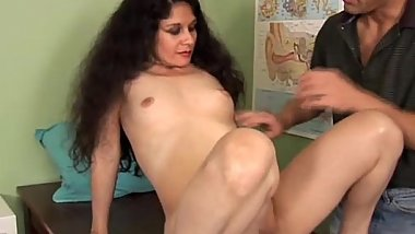 Naughty latina MILF loves to fuck and facial cumshots